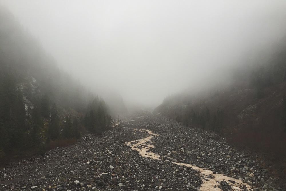 Nisqualie River - Mount Rainier Nat'l Park, WA