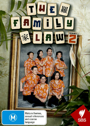 THE FAMILY LAW   12 episodes, 2017-2018  The dysfunctional world of one Chinese-Australian family.  NOMINATED - Best Editing in a TV Comedy - ASE AWARDS 2017