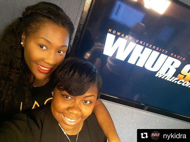 #Repost @nykidra with @repostapp ・・・Me and one of our millennials, Autumn. Autumn is one of our BGV Collegiate Ambassadors and this girl is bad. She's a sophomore at American University, Political Science Major. She's super cute, smart, creative, passionate and hard-working. Today Autumn joined me at WHUR for my interview and we had so much fun. We talked about her BGV work, involvement at American University, internship plans, post college plans, the we grabbed a quick bite and then I dropped her off at her dorm. Oh to be in college again.  Definitely had me feeling nostalgic.  These young girls inspire me more than they know and I'm excited about BGV's expansion to colleges across the country. Tag a collegiate that may be interested in @blackgirlsvote. It's young black girls that are going to change the world 🌎. Well we are changing the 🌍#ItsNotAboutMe #BlackGirlsVote #Engage #Educate #Empower #Vote #BeTheVoice #SheWillVote #BGV #Election2016 #Register #Policy #BlackGirlsVote #Collegiate #BlackGirlMagic