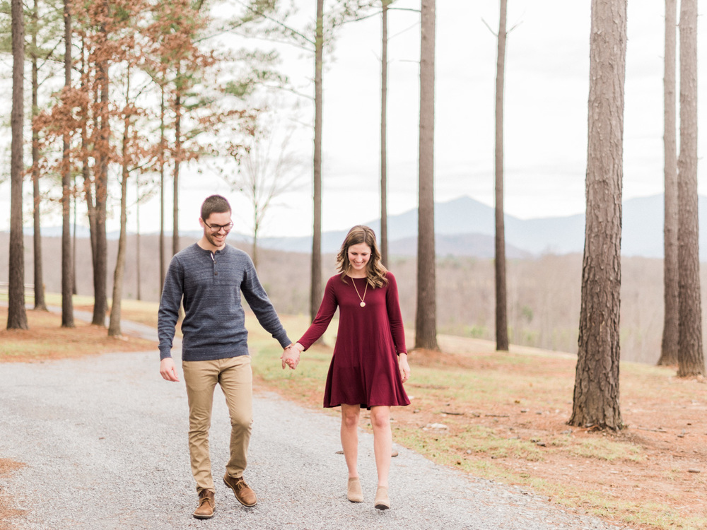 Sierra Vista Romantic Engagement | Film Photography | Lynchburg Virginia | Kelsey & Nate | kelseyandnate.com