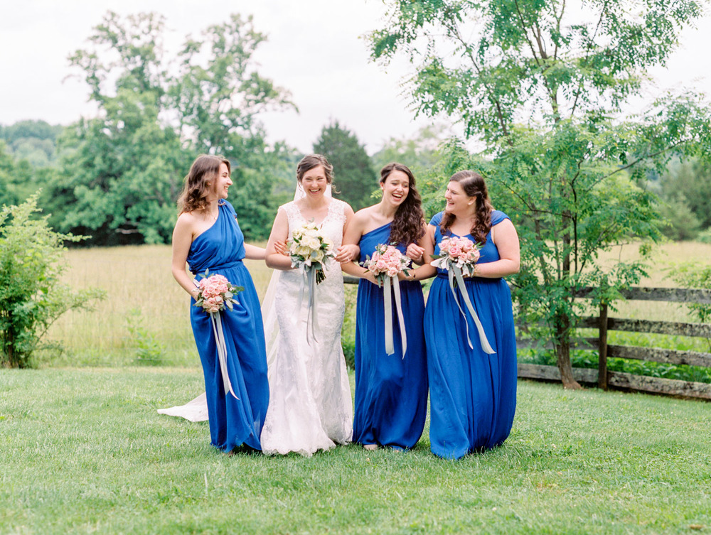 Lynchburg Virginia | Sorella Farms | Charlottesville Virginia | Wedding Photographer | Kelsey & Nate | kelseyandnate.com | Scottish Wedding | Cobalt Bridesmaid Dress