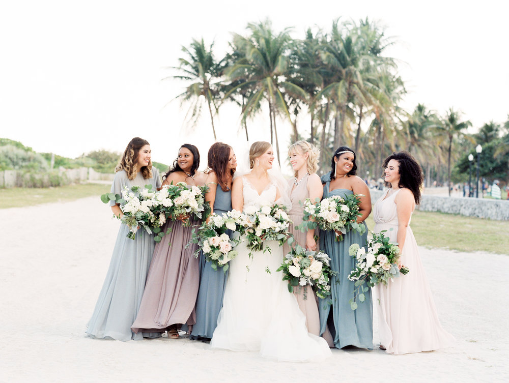 modern south beach miami wedding - south beach miami, flJulie & Shaun