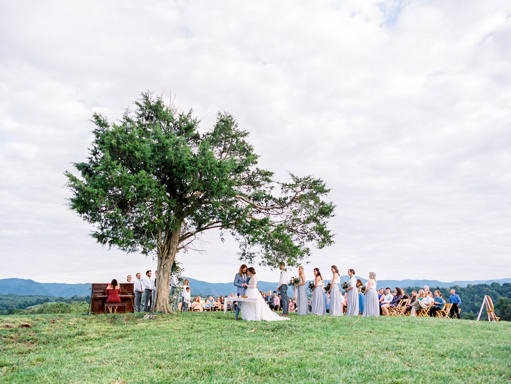 INTIMATE HEARTSTONE LODGE MOUNTAIN WEDDING - tia & aaronLexington, VA