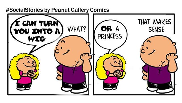 #Todderlogic is the best!  Great imagination!  Story found on social and made into a comic by PeanutGalleryComics.com