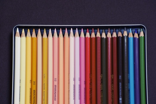 Sketch out your ideas in living color. Just not with those super cheap crayons that draw funny.