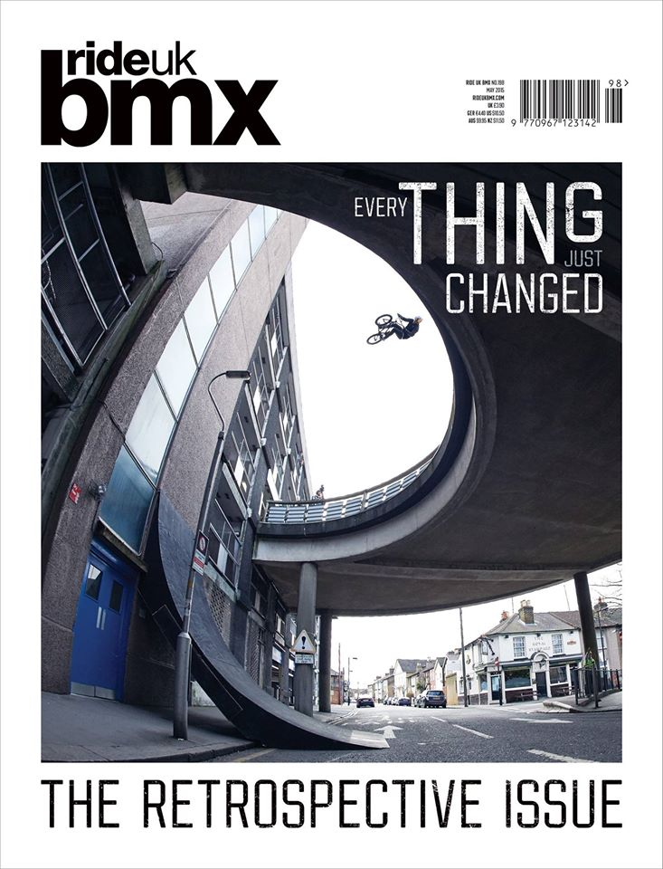 As one door closes, another one opens…   Bas Keep just shut down Ride UK scoring the cover of their last ever print issue and In the process, kicked down the door to new realms of BMX.