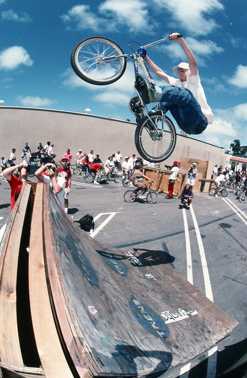 Spike Jonze was a BMX'r!
