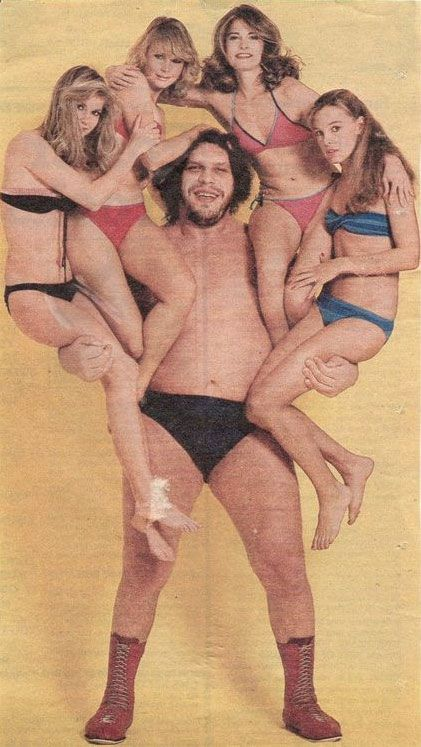 Andre the Giant really did have a posse!