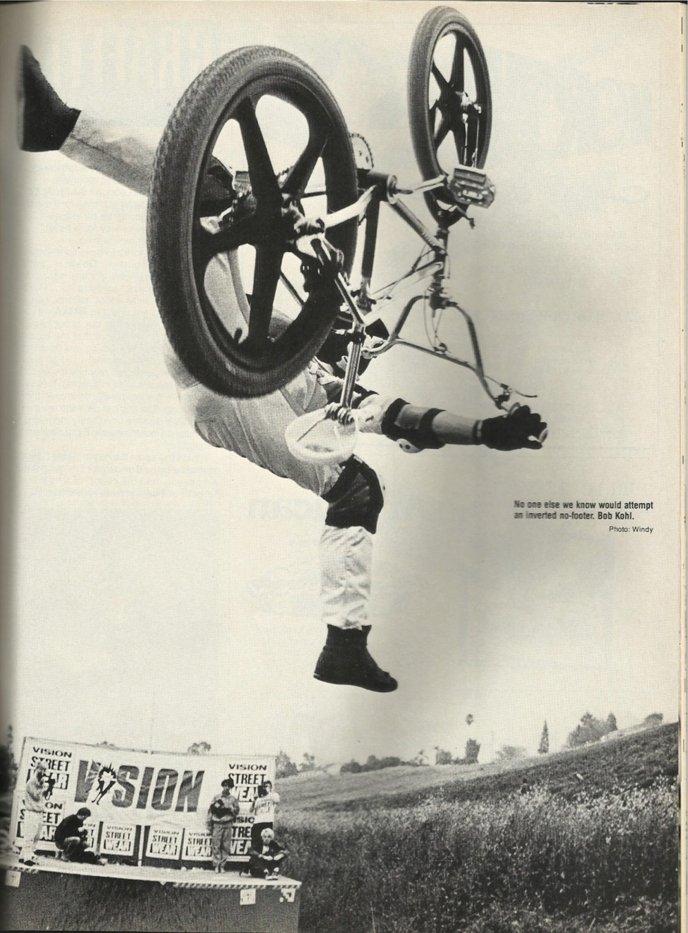 Not sure how this works but someone needs to bring them back! No footed invert by Bob Kohl many moons ago.