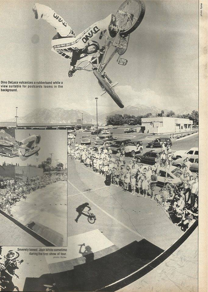 Before Spike Jonze was gobbled up by Hollywood he took awesome BMX photos, like this one of a wild nac nac combo by Dino DeLuca.