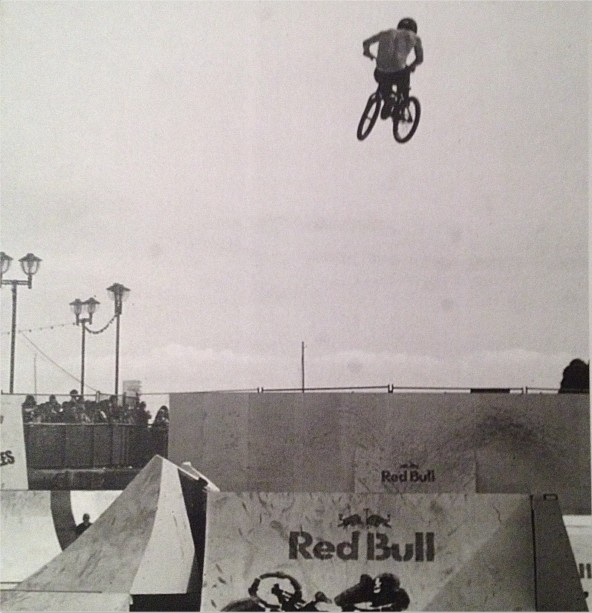 Garrett Byrnes. Hands down one of the best bike riders to ever pick up a BMX bike.   Pic stolen from @gbyrnest1