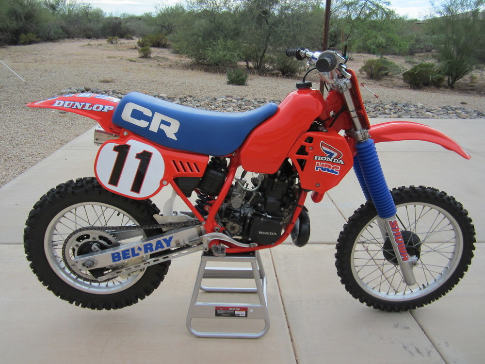 83 CR 250.  Sure this thing screams like a bat out of hell.