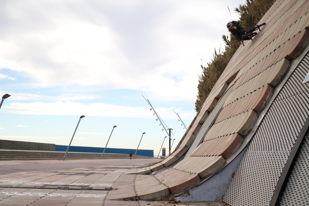 Our boy Greg Illingworth laying it down in Barcelona last November.