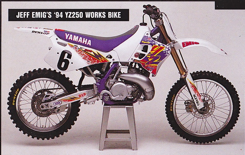 Fro's 94 Factory steed..