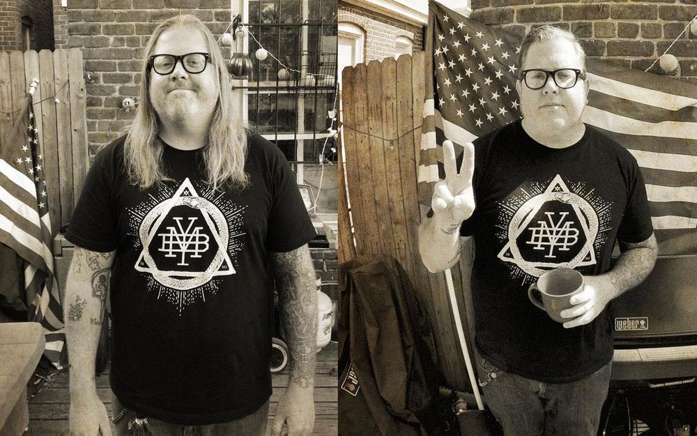 FBM's Steve Crandall rocking a Make Your BonesTriad T.