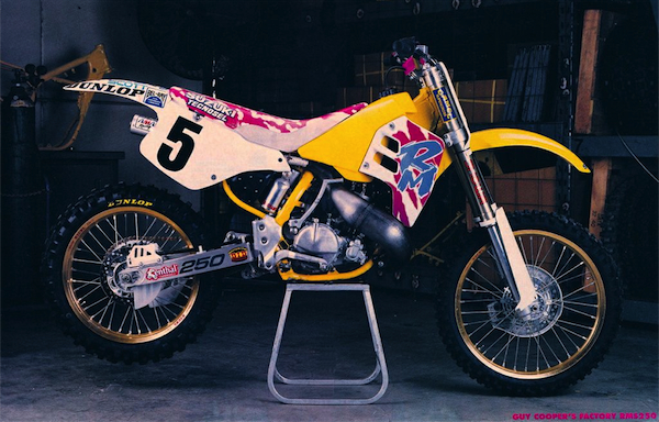 1992 Factory Suzuki RM250… Beauty or beast?