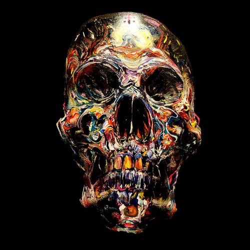 Rad skull by David Choe.