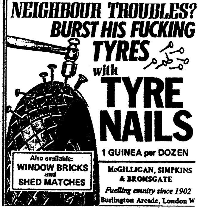 Get your nail tyres and window bricks here.