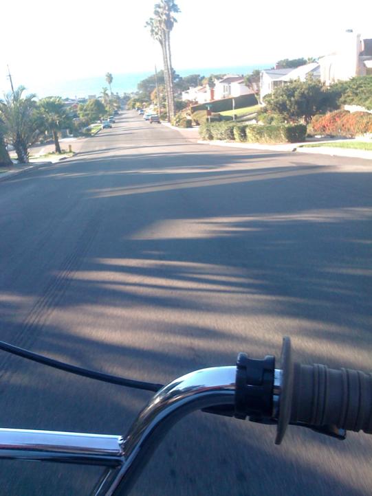 Hill bomb + sea breeze & palm trees. Ahhh.