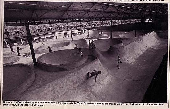Indoor concrete gem from the 70s. Weird part is, this was in Brentford, UK!
