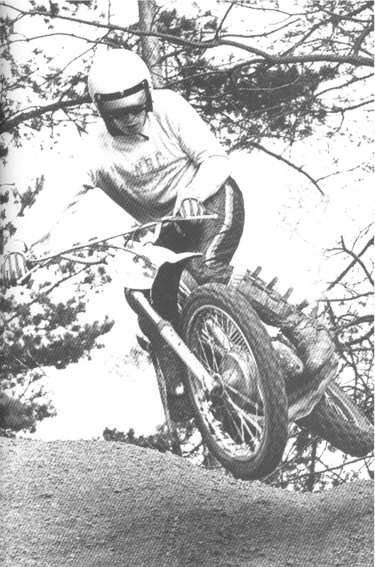 Roger 'The Man' DeCoster throws a wee flatty many moons ago.