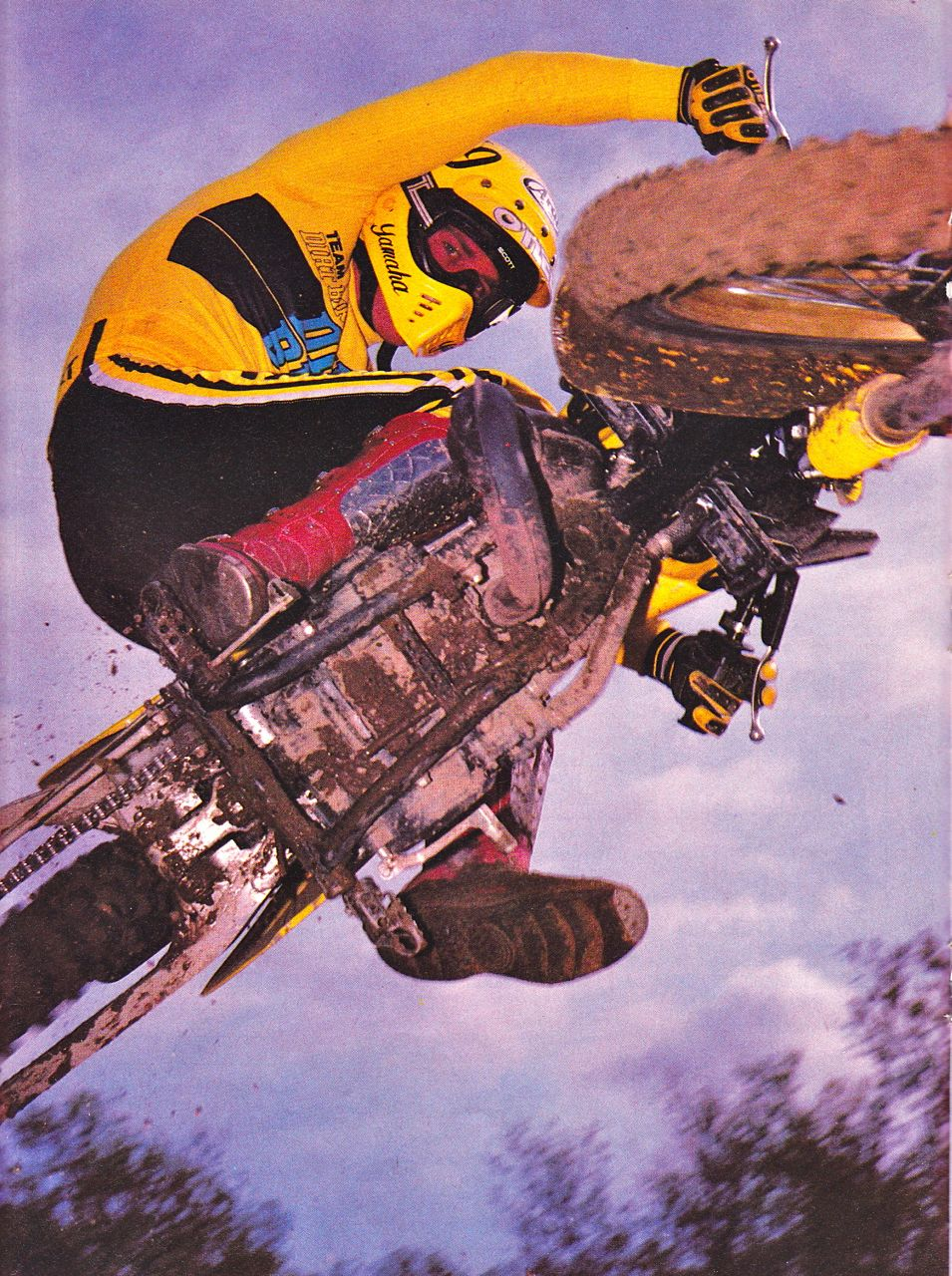 Jim Holley getting all BMX back in the 80s.
