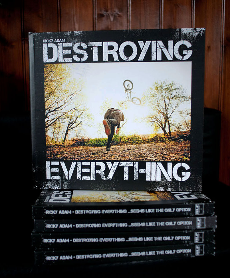 Looking forward to slurping a brew with this one.. Ricky Adams new book  Destroying Everything .