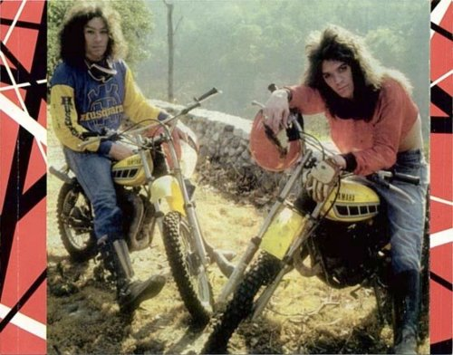 Van Halen into moto?