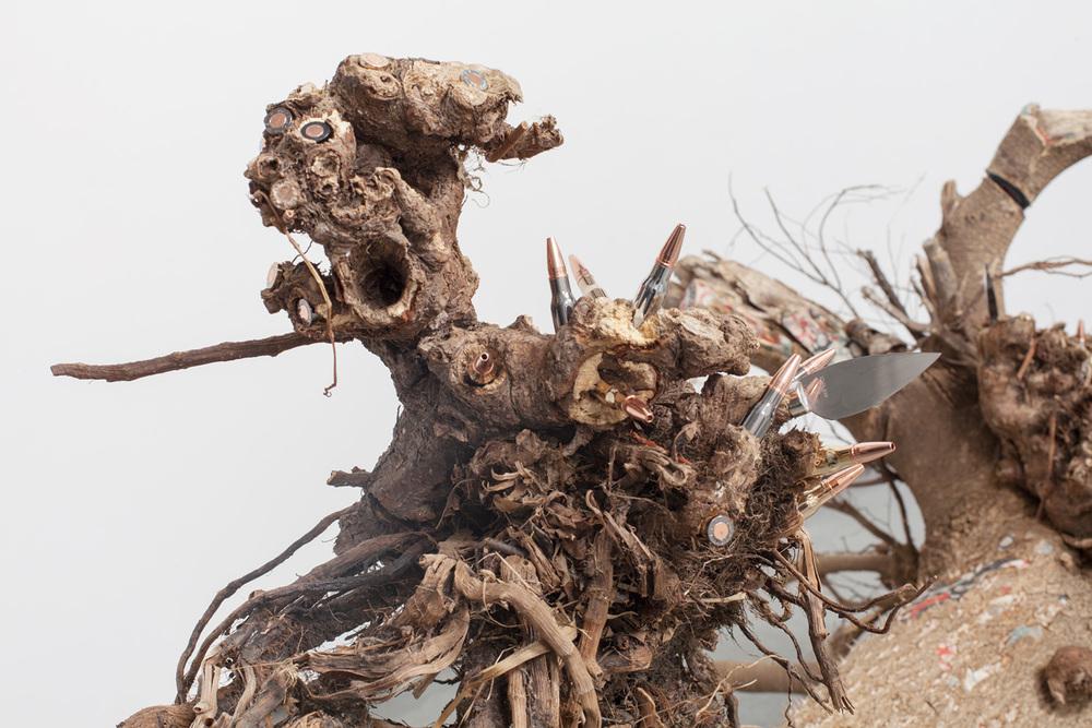 Lorna Williams-things fall apart-2013-mixed media-33x62x39-detail.jpg