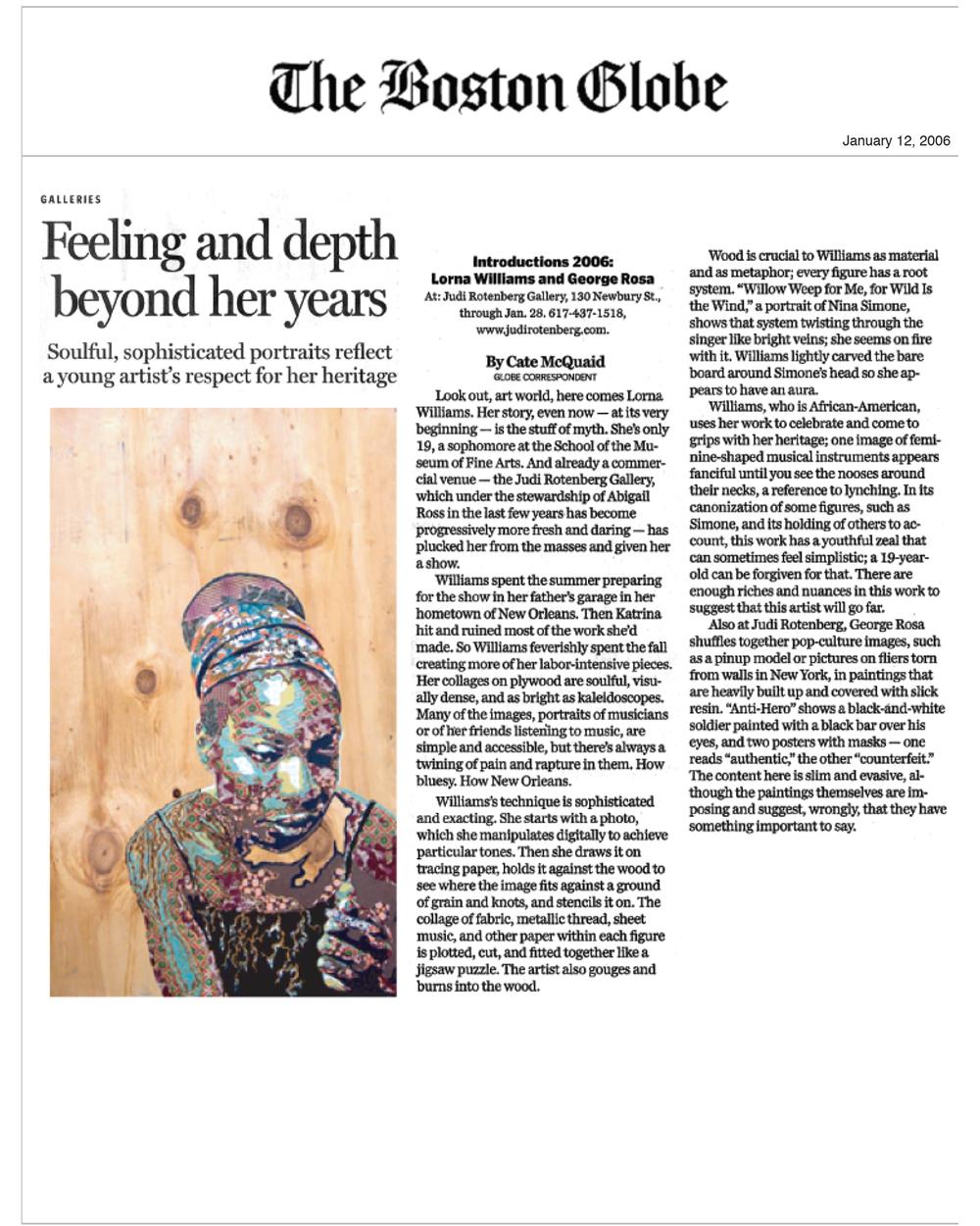The Boston Globe_Jan 2006.jpg