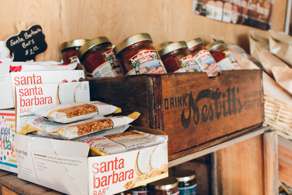 Santa Barbara Gift Baskets | ERINFRED.com