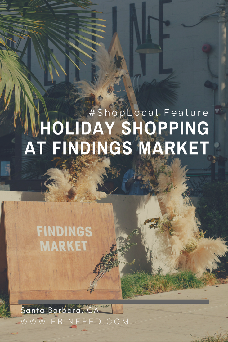 Holiday Shopping at Findings Market | ERINFRED.com