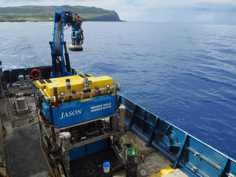 Remotely operated vehicle Jason.