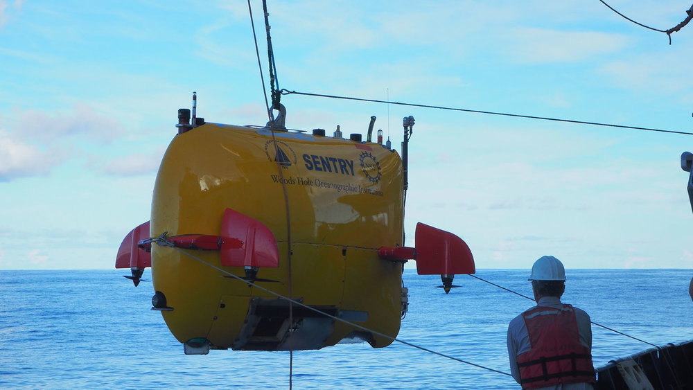 Autonomous underwater vehicle Sentry.