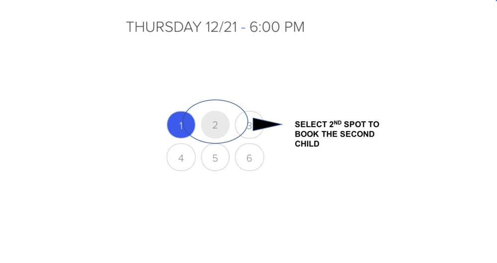 Select 2nd Spot