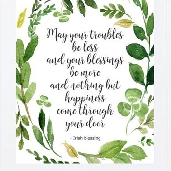 Although Emmet's of Norwood is not open today we just want to let you know you're on our minds and wanted to share a beautiful Irish blessing with you. Hopefully we'll see you all tomorrow night!#closedmondays #thinkingofyou #irishblessing #seeyoutomorrow