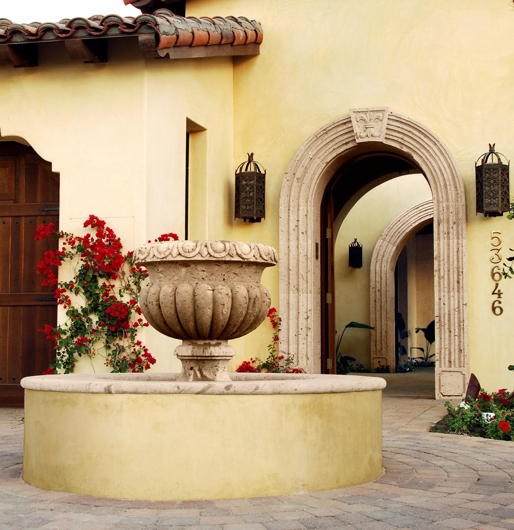 Fountains - Cantera Stone & Limestone Architectural Designs