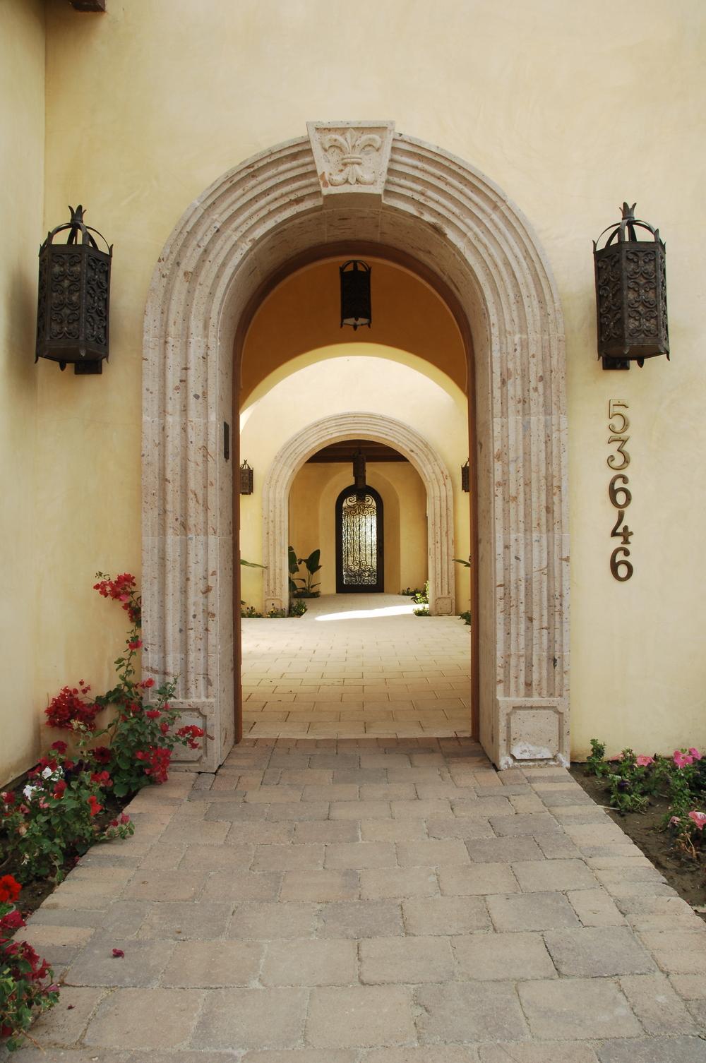 Cantera Stone Arch Surrounds & Molding / Surrounds - Cantera Stone \u0026 Limestone Architectural Designs