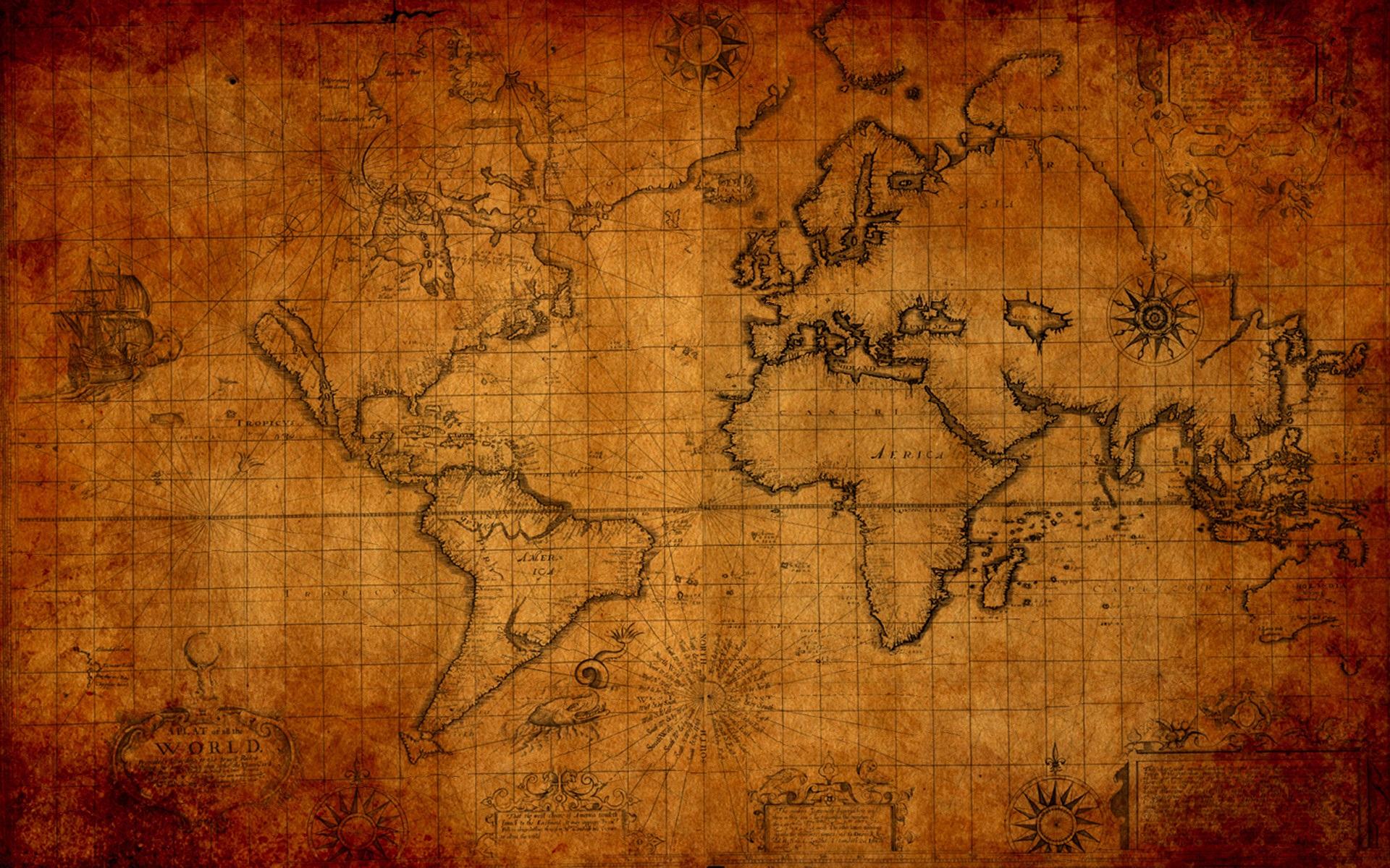 Indiana Jones Map Wallpaper