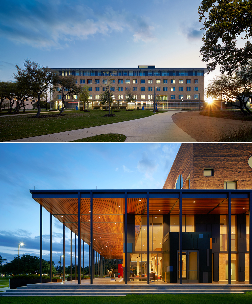 Top: UTSA-North Campus Building   Bottom: UTPA-Performing Arts Building
