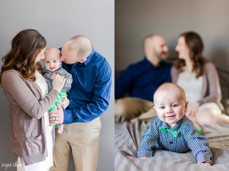 Family Photo Ideas 6 Month Old
