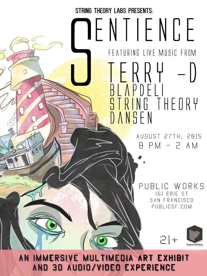 Event poster for Sentience