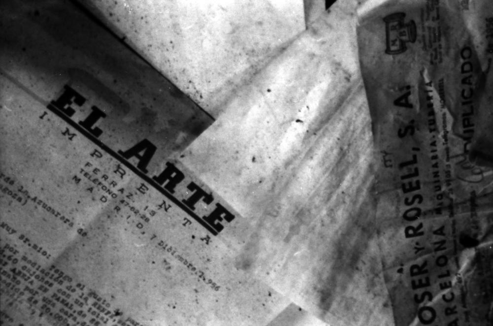 EL ARTE, GELATIN SILVER PRINT ON KODAK PAPER, 2008