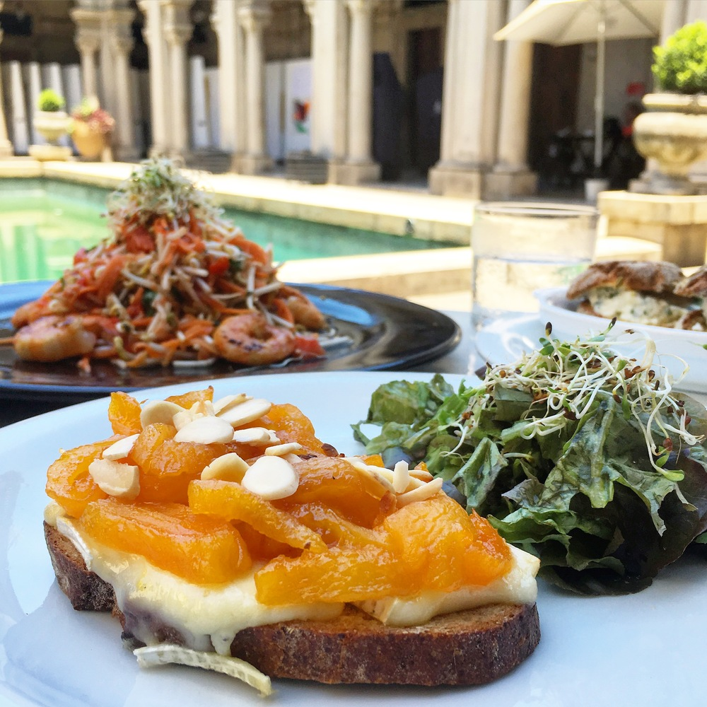 Delicious toasts from the cafe inside Parque Lage - Rio Travel Guide