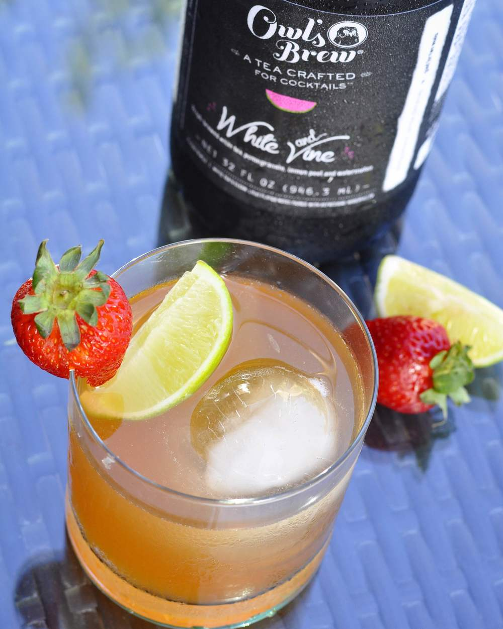 Mai Tai Recipe using Owl's Brew Mixer