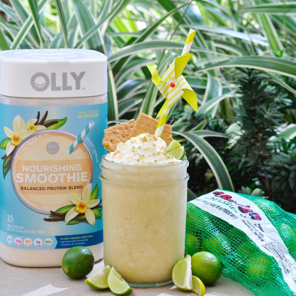 Key Lime Pie Protein Shake Recipe | coupleinthekitchen.com
