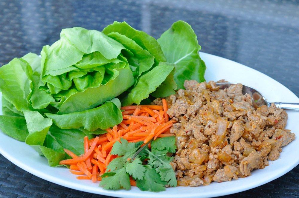 Better than P.F. Changs Lettuce Wrap Recipe | coupleinthekitchen.com