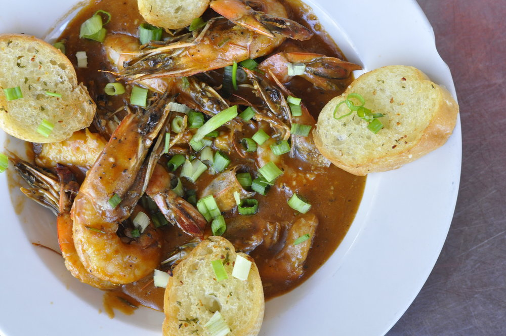 What to eat in Galveston, Texas | Little Daddy's Gumbo Bar | Coupleinthekitchen.com
