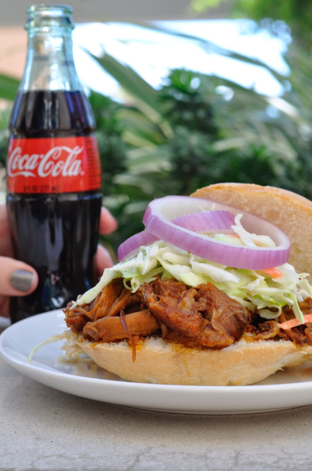 Coca Cola Pulled Pork Slow Cooker Recipe | coupleinthekitchen.com