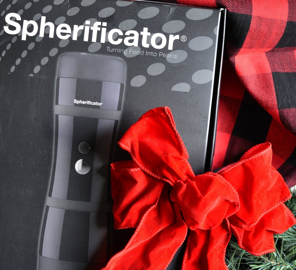 Foodie Gift Ideas | Spherificator | coupleinthekitchen.com